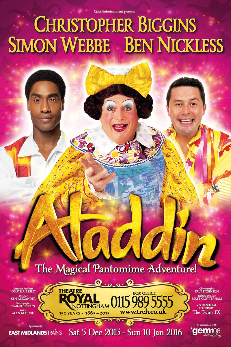 This is an Aladdin leaflet