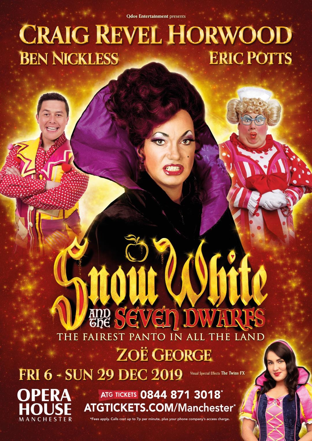 This is a Snow White 2019 leaflet